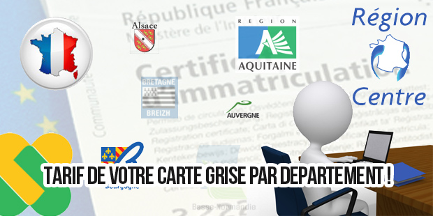 carte grise chevaux fiscaux  carte grise 4 cv