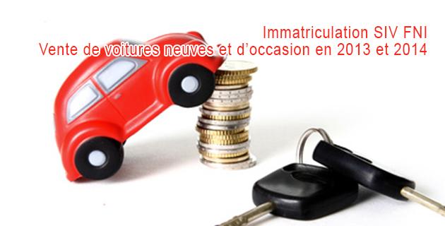 Immatriculation voiture FNI et SIV