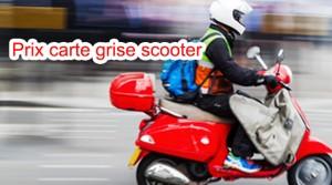 Prix carte grise scooter