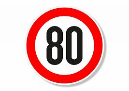 limitation vitesse 80